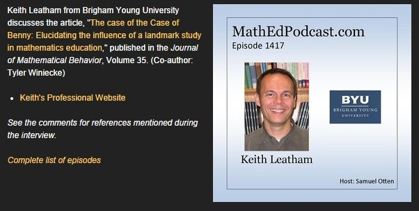 Keith Leatham podcast