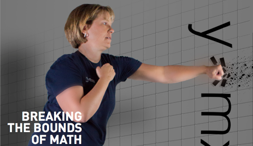 Breaking The Bounds of Math – Research by Dawn Teuscher is highlighed in Frontiers