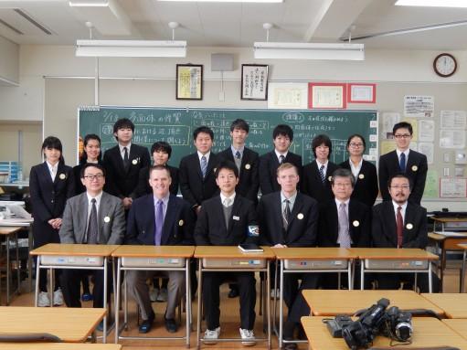 Dr. Corey & Dr. Peterson in Japan