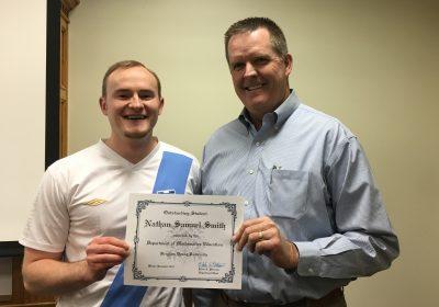 Congratulations Nate Smith!