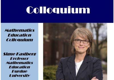 Mathematics Education Colloquium with Dr. Kastberg