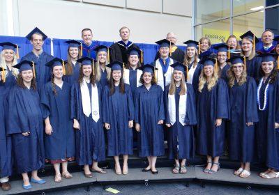 Congratulations April 2018 Graduates