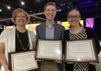 Professor Dawn Teuscher wins research award from NCTM