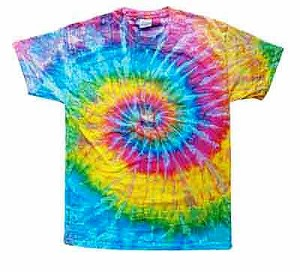 Spirals, Triangles, and Tie-dyed T-shirts
